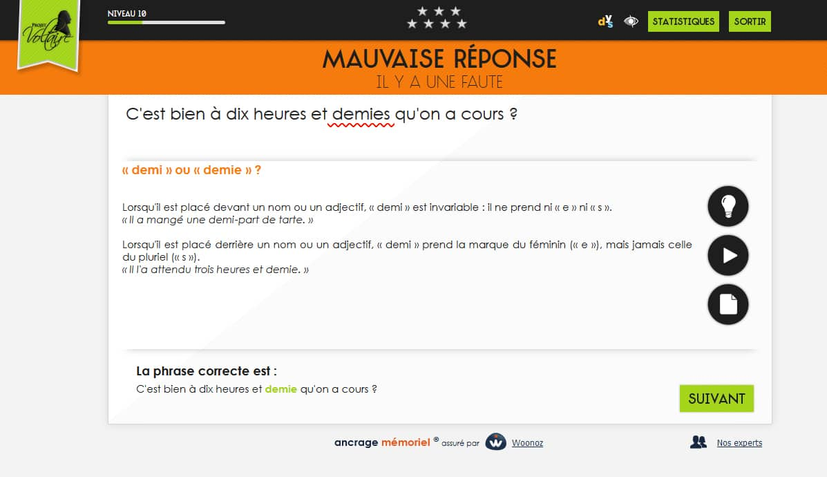 exemple de screenshot