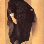 Homme obèse peint par Charles Mellin