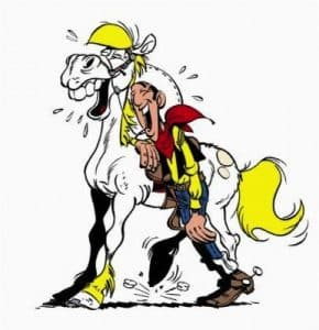 Lucky Luke et Jolly Jumper