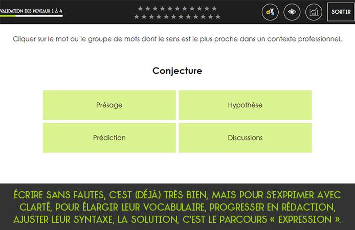 Slide 8 Projet Voltaire pour les entreprises