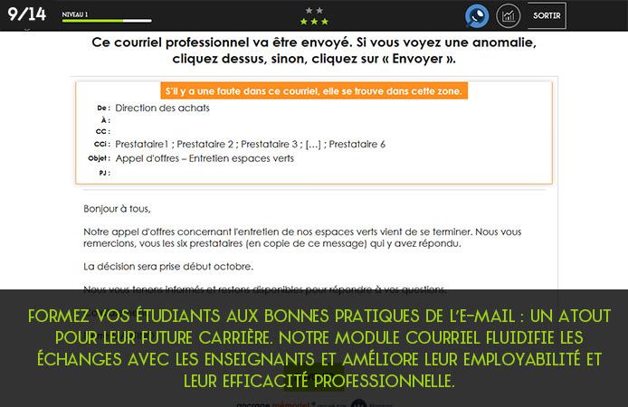 Slide 9 Projet Voltaire pour les établissements de l'enseignement supérieur